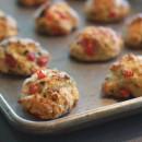 Best Ever Bruschetta Biscuits