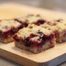 Lemon Blueberry Pecan Crumble Bars