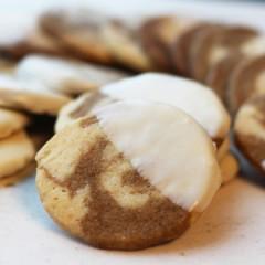Swirled Latte Cookies