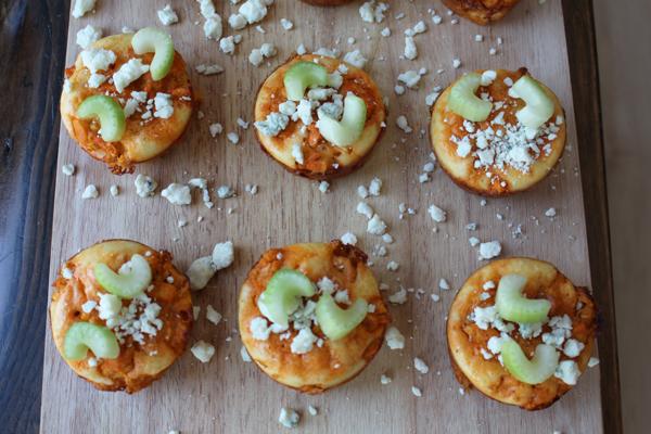 Impossibly Easy Mini Buffalo Chicken Pies Recipe — Dishmaps