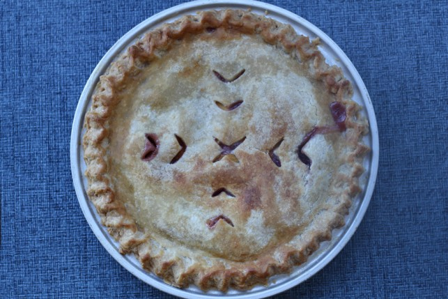 Raspberry Peach Pie recipe 1a