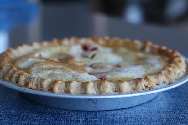 Raspberry Peach Pie 2a