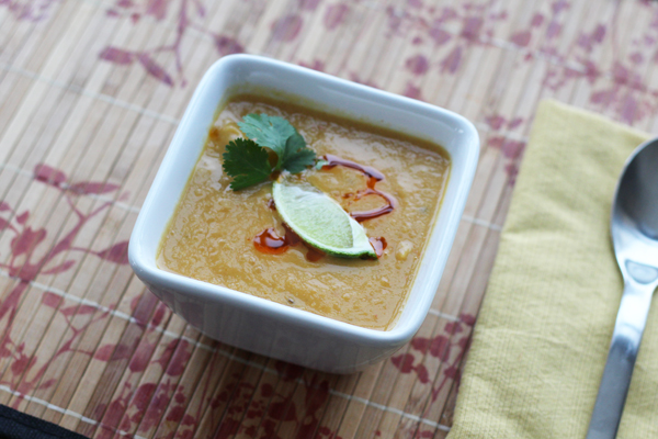 Creamy Curried Cauliflower Soup recipe 1a