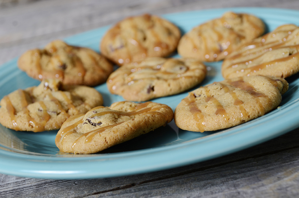 PB Choco-Chunk Salted-Caramel Cookie