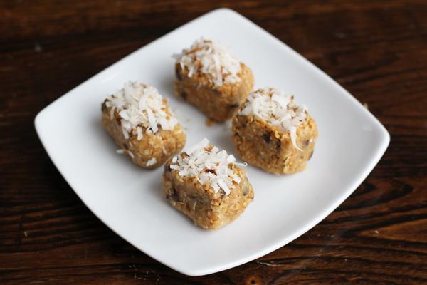 no bake Coconut Peanut Butter Power Balls