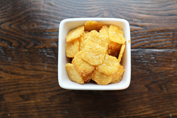 Spicy Homemade Cheeze-Its