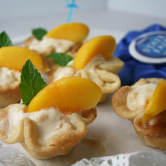Peachy Creamy Party Pies
